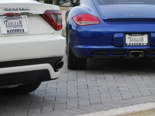 Auto Lot Custom Pavers