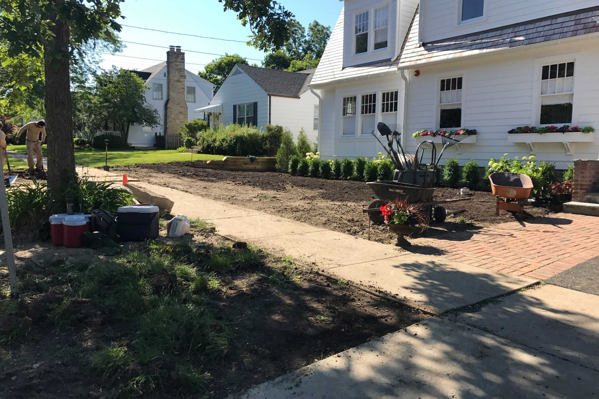 Residential Landscaping Service Barrington Il Sod Installation The Nl Group