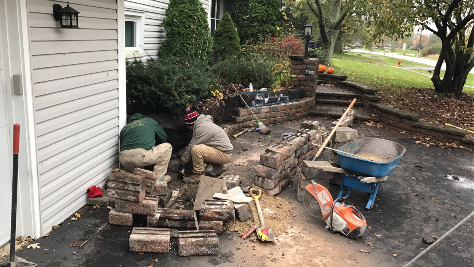 hardscape repair barrington IL