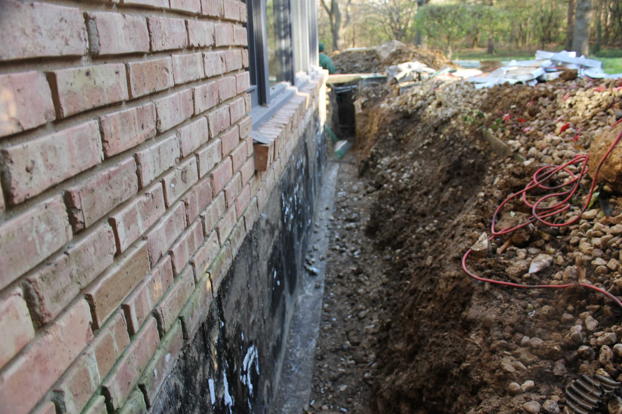 landscape drainage issues